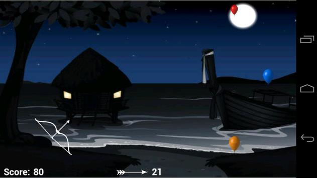 Balloon Bow & Arrow screenshot 2