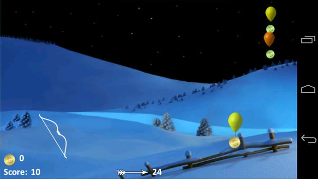 Balloon Bow & Arrow screenshot 9