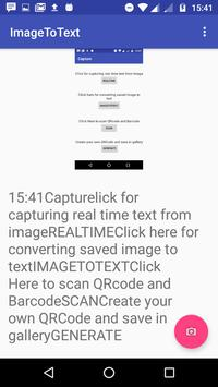 Capture(Barcode QRcode Scan, Image-text Converter) for