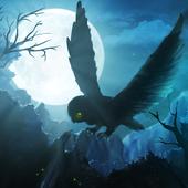 Owl's Midnight Journey - Free icon
