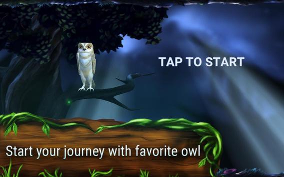 Owl's Midnight Journey - Free apk screenshot