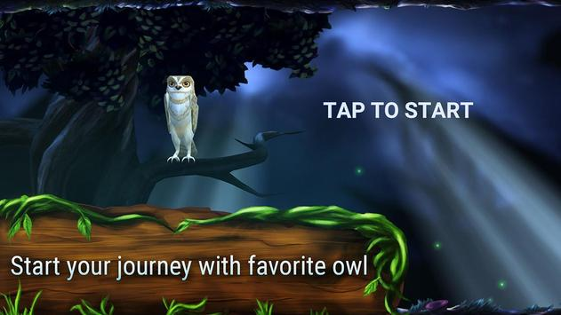 Owl's Midnight Journey - Free poster