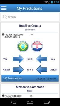 Predictit - World Cup 2014 apk screenshot