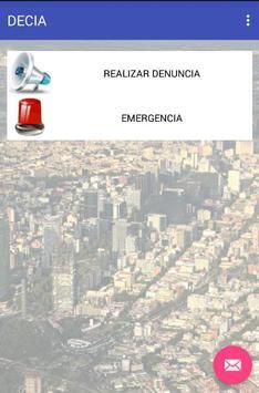 DECIA poster