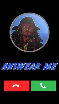 Fake Call From Jack Sparrow screenshot 2