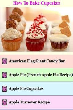 How to Make Cupcakes Guide poster