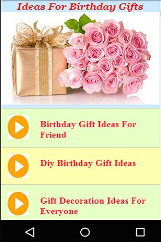 Best birthday gift ideas videos apk best birthday gift ideas videos negle Choice Image