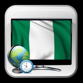 TV guiding Nigeria time show icon