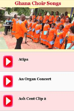 Ghana Choir Songs poster