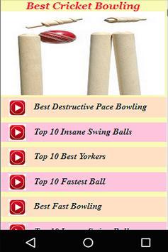 Best Cricket Bowling Videos apk screenshot