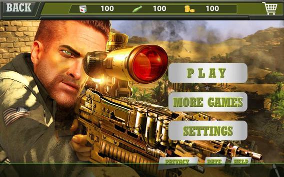 Marksman Commando Sniper 3d screenshot 5