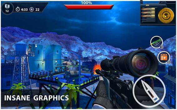 Marksman Commando Sniper 3d screenshot 12