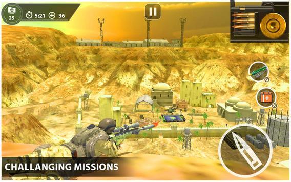 Marksman Commando Sniper 3d screenshot 3