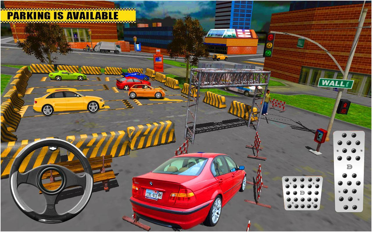 Modern Luxury Car Parking Roadway Parking Game For Android Apk