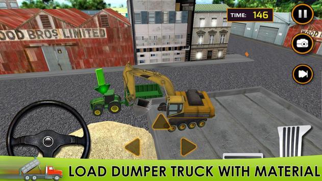 Truck Sim : Sand poster