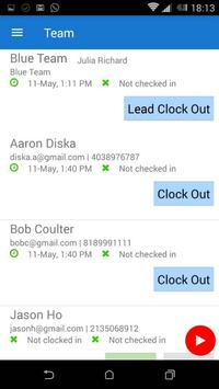 Mobile Time Tracker screenshot 1