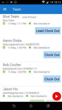 Mobile Time Tracker screenshot 1