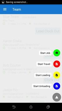 Mobile Time Tracker screenshot 2