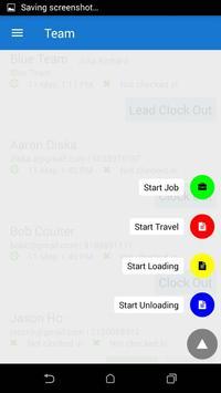 Mobile Time Tracker screenshot 2