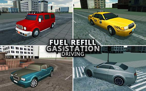 Gas Station Car Driving Game apk screenshot