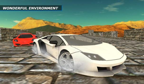 The Wall Car Racing Simulator apk screenshot