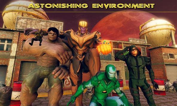 Fort Fighting Thanos Infinity War Battle screenshot 4