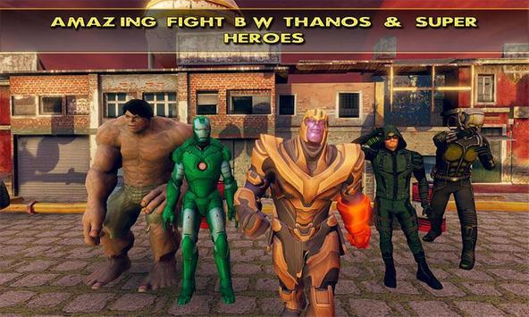 Fort Fighting Thanos Infinity War Battle screenshot 5