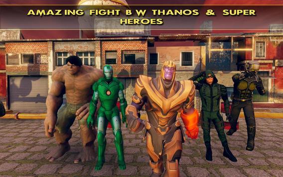 Fort Fighting Thanos Infinity War Battle screenshot 11