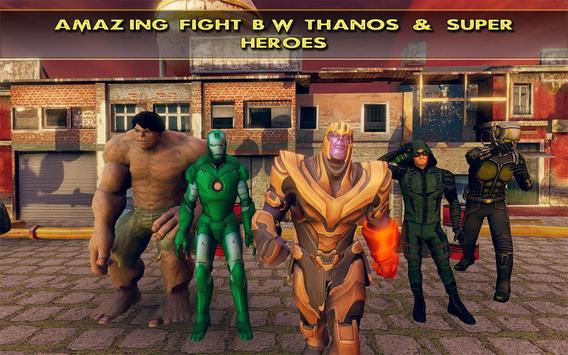 Fort Fighting Thanos Infinity War Battle screenshot 17
