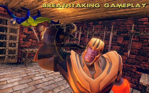 Fort Fighting Thanos Infinity War Battle screenshot 15