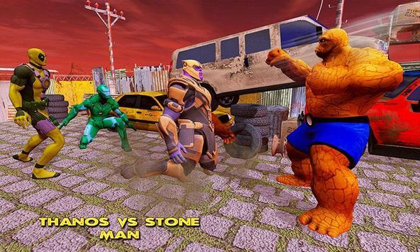 Fort Fighting Thanos Infinity War Battle screenshot 2