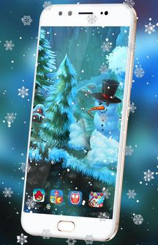 Winter Snowfall 3D Live HD Wallpaper Free Apk Screenshot