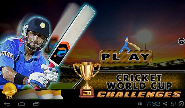 Cricket World Cup Challenges poster