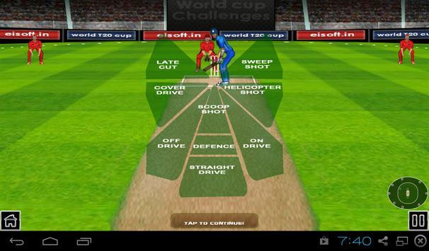 Cricket World Cup Challenges apk screenshot