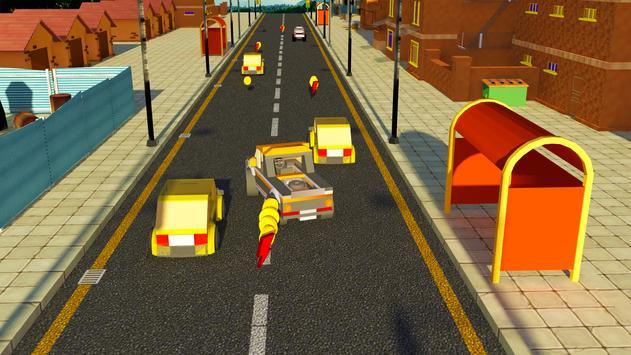 Extreme Toy Car Traffic Racing Stunt Simulator screenshot 3