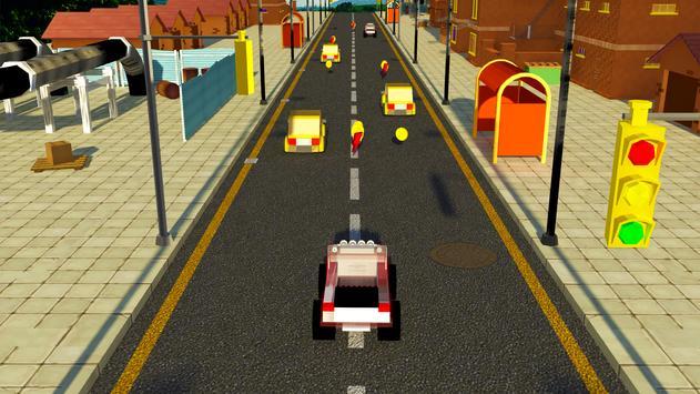 Extreme Toy Car Traffic Racing Stunt Simulator screenshot 4