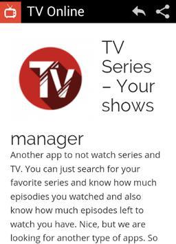 TV Online poster