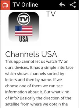 TV Online screenshot 3