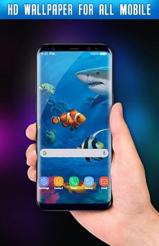 Fish Live Wallpaper 3D Screenshot 5