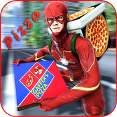 Flash Speed Hero Pizza Delivery Duty icon