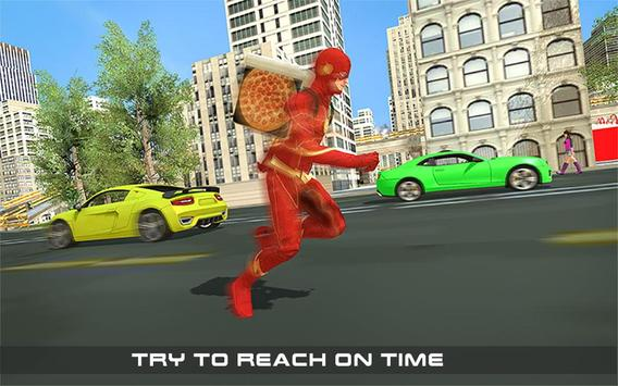 Flash Speed Hero Pizza Delivery Duty screenshot 11