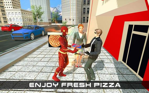 Flash Speed Hero Pizza Delivery Duty screenshot 13
