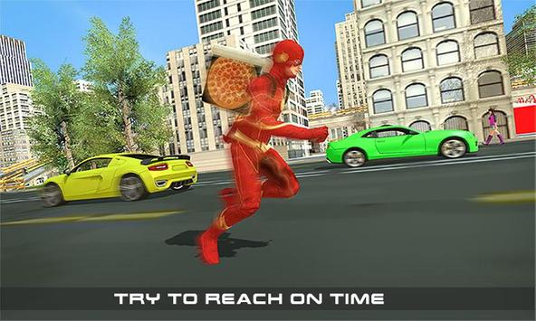 Flash Speed Hero Pizza Delivery Duty screenshot 1