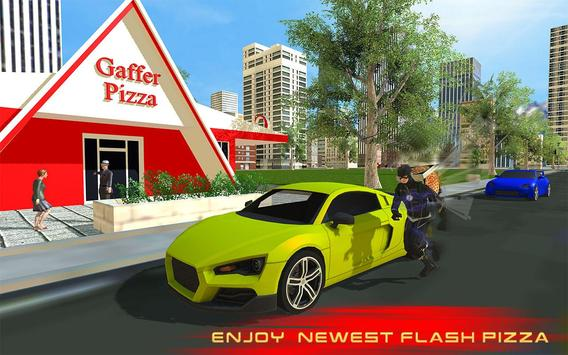 Flash Speed Hero Pizza Delivery Duty screenshot 5