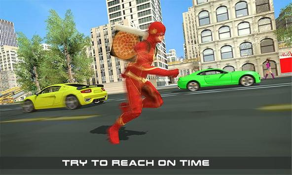 Flash Speed Hero Pizza Delivery Duty screenshot 6