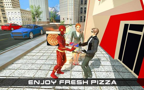 Flash Speed Hero Pizza Delivery Duty screenshot 8
