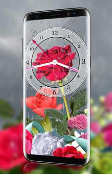 Rose analog clock 3d rain drop live wallpaper hd for android apk rose analog clock 3d rain drop live wallpaper hd screenshot 10 altavistaventures Image collections