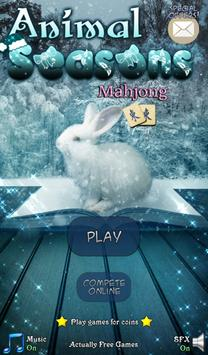 Hidden Mahjong: Animal Seasons poster