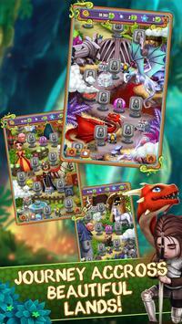 Mahjong Blitz - Land of Knights & Dragons poster
