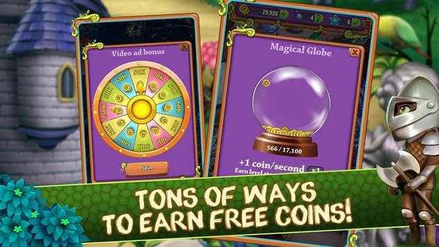 Mahjong Blitz - Land of Knights & Dragons screenshot 15